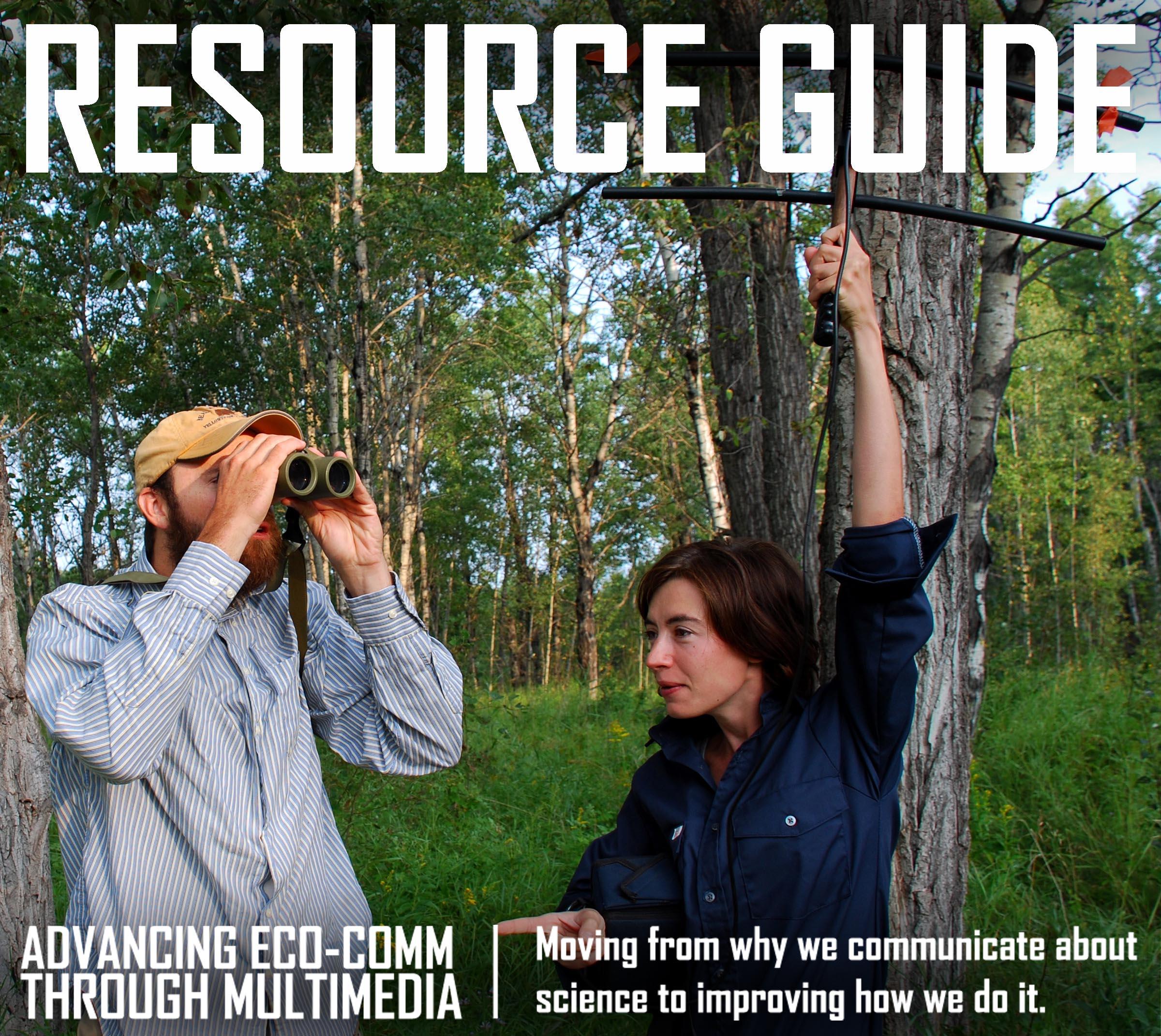 Multi-media SciComm resource guide