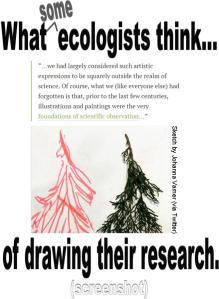 What ecologists think of drawing (09.2014)