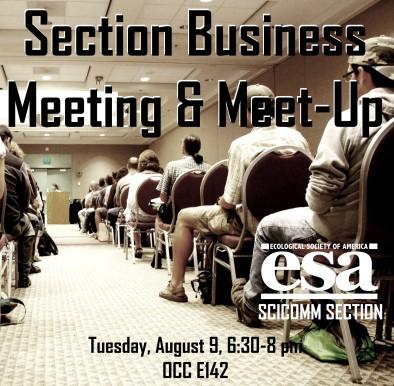 ESA meeting 2013 - Minneapolis, MN