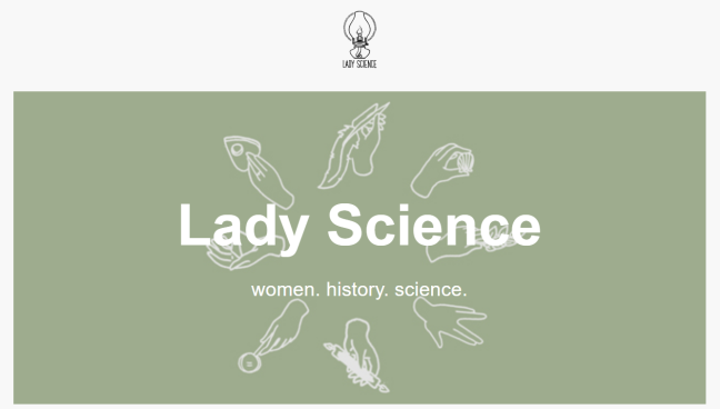 Lady Science screen shot